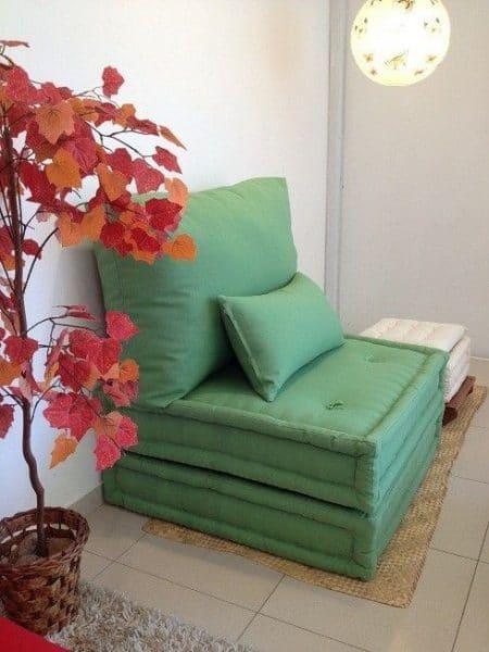 Sofa cama 1 plaza plegable