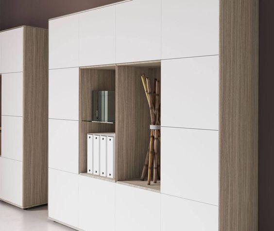 armario minimalista moderno para oficina