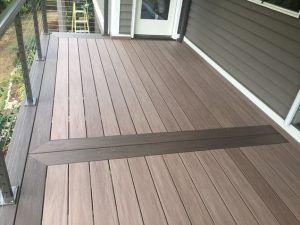 balcon con deck pvc