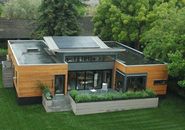 casas ecologica con energia solar