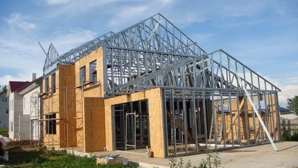 construccion de casa con sistema steel framing