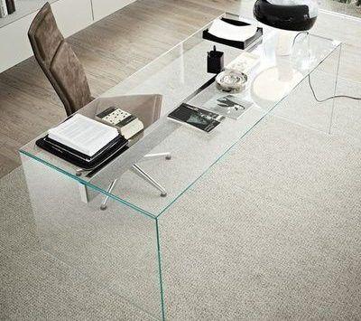 escriotrio moderno de vidrio para oficina