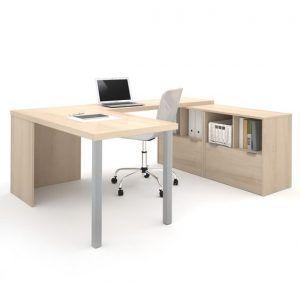 escritorio para oficina amplio con estanteria e1539726764191