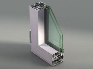 estructura ventana pcv doble vidrio