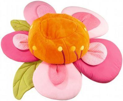 puff infantil en forma de flor para nenas