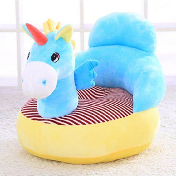 puff infantil unicornio