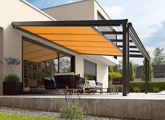 Tipos de toldos para la decoracion exterior las garbo - Toldos para patios exteriores ...