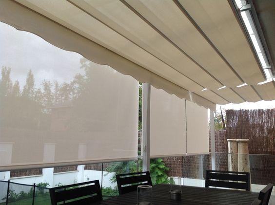 toldos verticales para balcon