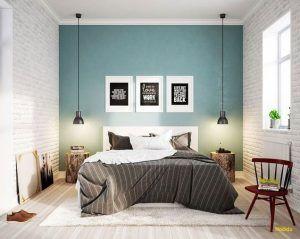 Colores de pared para dormitorio blanco y azul