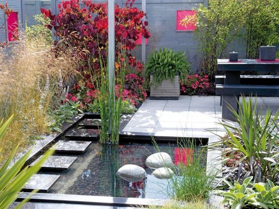 Estanques para el jardin casa web for Cubierta estanque