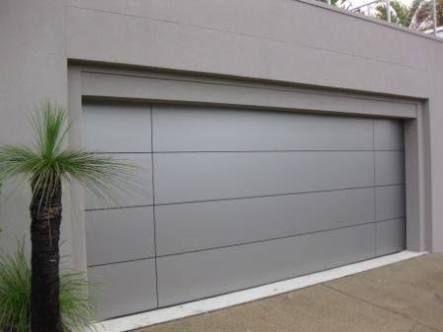 Porton garaje seccional