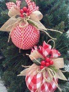 adornos economicos para el arbol de navidad