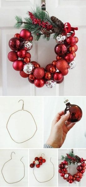 adornos economicos para navidad