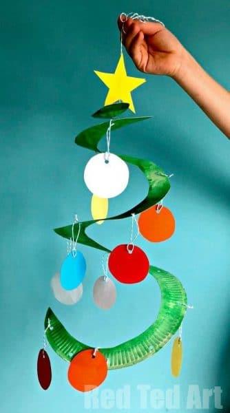 arbol de navidad de papel original
