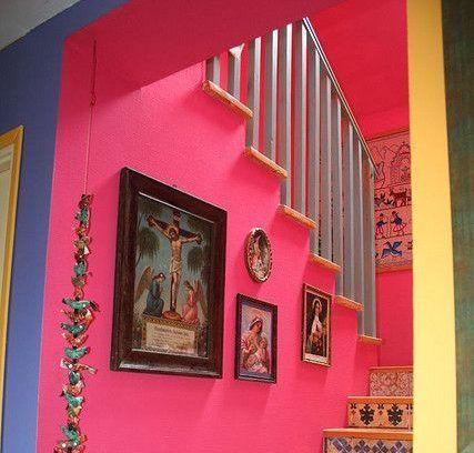 colores de pared Triádico