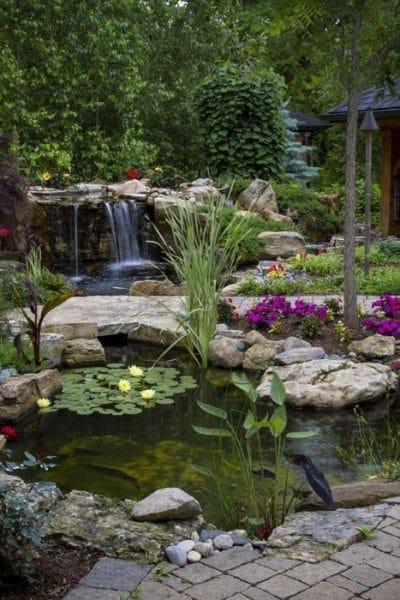 Estanques para el jardin casa web for Estanques prefabricados grandes