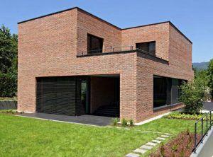 fachadas modernas con ladrillo visto e1543184218975
