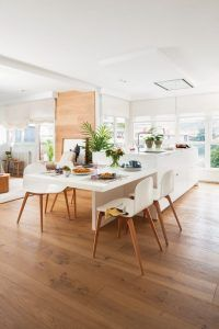 isla para cocina con mesa