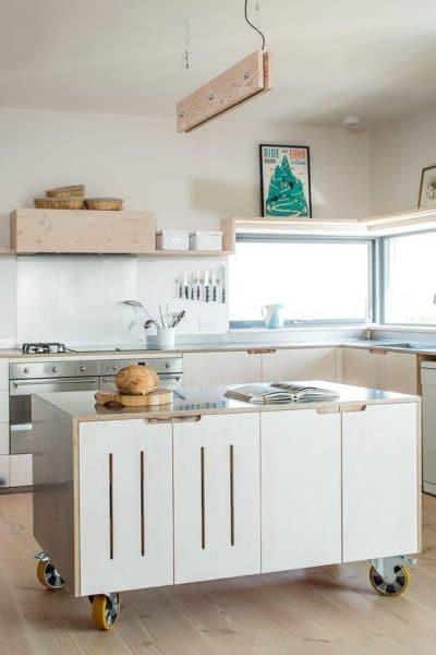 Modelos cocinas con islas modernas casa web - Islas de cocina moviles ...