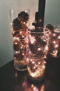 lamparas navideñas economicas y elegantes
