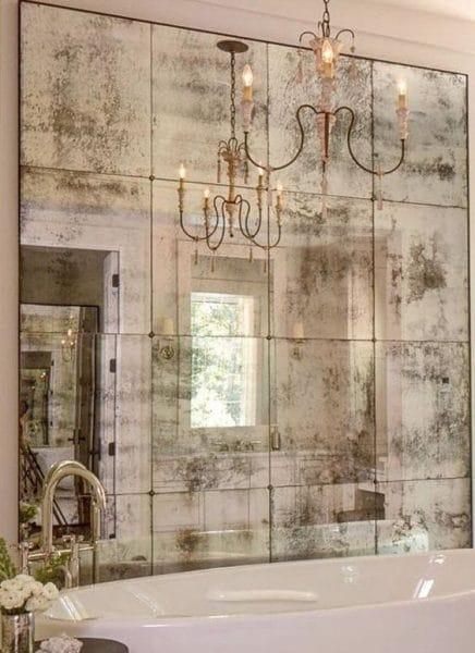 pared de baño con procelanato liquido 3d