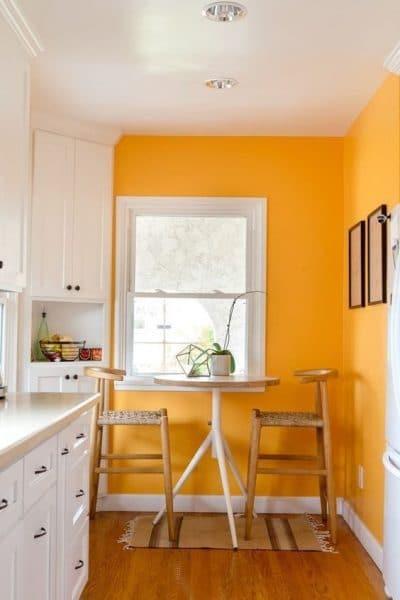Como combinar colores de pintura para paredes de interior - Combinar color naranja paredes ...