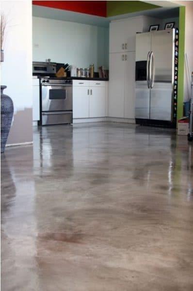 piso simula cemento alisado con procelanato liquido 3d