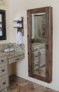 botiquin grande para baño con espejo