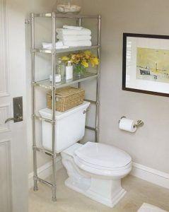 estanteria para baño de acero inoxidable