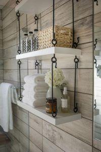 estantes flotantes para baño