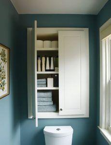 muebles empotrados para baños