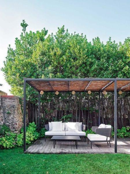 Modelo de pergolas de hierro modernas para jardin casa web - Modelos de pergolas ...