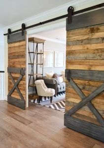 puerta granero para separa ambientes