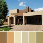 casa colores tierras suaves combinacion pintura exterior