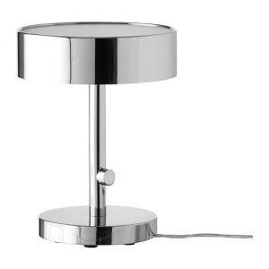 lampara mesa cromada Ikea