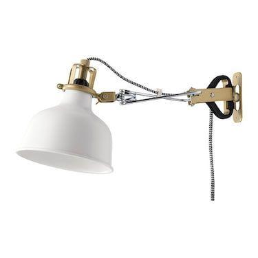 lampara para pared estilo pinza Ikea