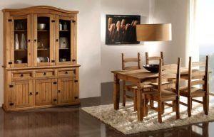 Comedor moderno muebles estilo colonial