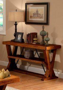 Mueble Recibidor estilo colonial Decoracion moderna