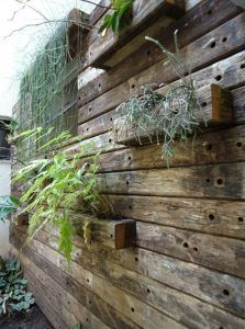 cercas madera reciclada rustica