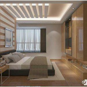 cielorraso de durlock iluminado para dormitorio