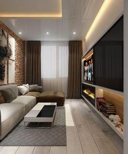 cielorraso de yeso con diseño para sala de estar