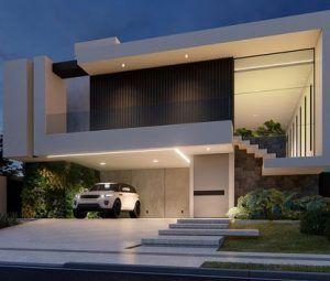 8 fachadas de casas modernas de dos pisos casa web