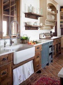 meubles para cocina estilo colonial