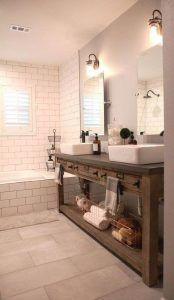 mueble para baño estilo colonial moderno