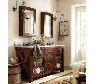 muebles para baño estilo coloniales