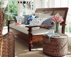 muebles sala de estar colonial moderno