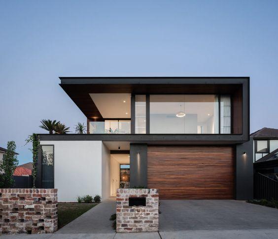 Fachadas de casas minimalistas y modernas casa web for Foto casa minimalista