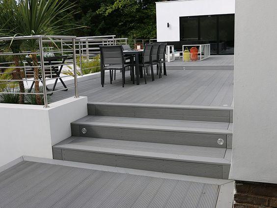 deck para terraza de wpc
