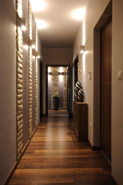 Iluminacion para pasillos estrechos
