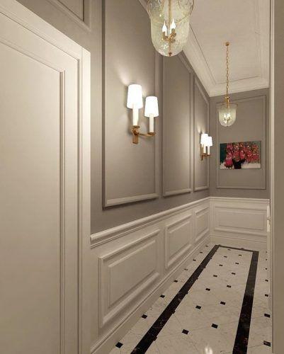 como pintar pasillos estrechos